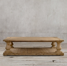 Столы Restoration Hardware Balustrade Salvaged Wood Coffee Table