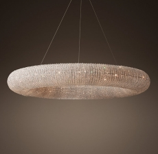 Люстры Restoration Hardware Crystal Halo Chandelier 71