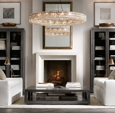 Люстры Restoration Hardware Spiridon Ring Chandelier 60