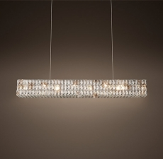 Люстры Restoration Hardware Spiridon Linear Chandelier 48