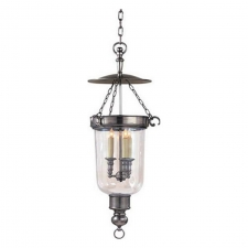 Потолочные светильники Visual Comfort Georgian Medium Smoke Bell Lantern in Antique Nickel