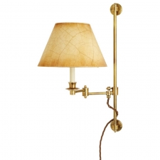 Бра Besselink & Jones 2-arm library light, distressed brass
