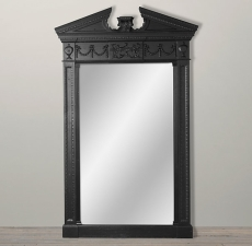 Зеркала Restoration Hardware Entablature Mirror - Black