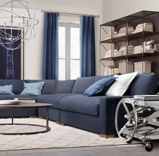 Диваны Restoration Hardware Maxwell Upholstered Customizable Sectional
