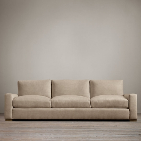 Диваны Restoration Hardware Maxwell Upholstered Three-Seat-Cushion Sofa